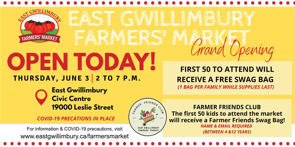 Farmers Market Grand Opening ad